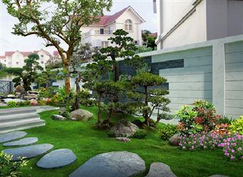 Những mẫu thiết kế sân vườn biệt thự đẹp mê hồn
