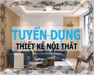 Tuyển dụng kiến trúc sư thiết kế nội thất làm việc tại khu vực Mỹ Đình, Hà Nội