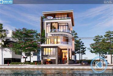 Thiết kế biệt thự tại Hà Nội đẹp và đẳng cấp – Kiến Trúc Kinh Bắc
