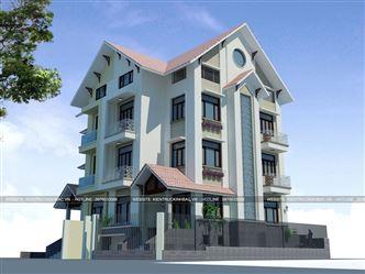 Cải tạo biệt thự 4 tầng 2 mặt tiền tại khu đô thị Trung Văn, Hà Nội