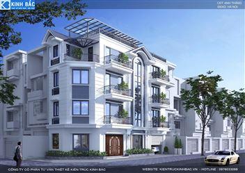 Thiết kế cải tạo biệt thự đẹp đẳng cấp tại Hà Nội